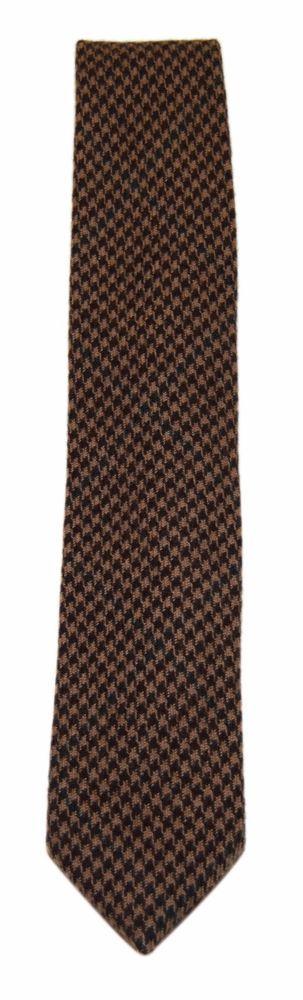 eefb1f36cfb eBay  Sponsored Polo Ralph Lauren Mens Wool Flannel Casual Handmade Tie  Houndstooth Brown Italy