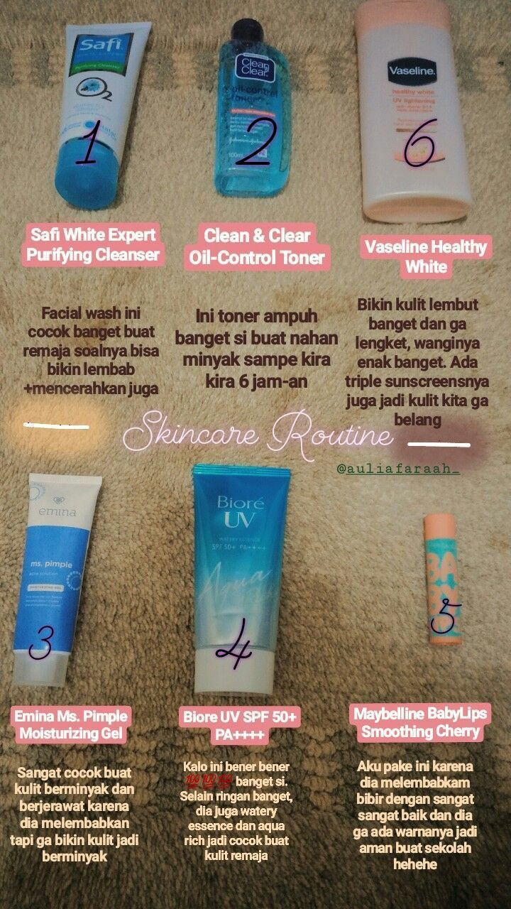 Urutan Skincare Remaja Emina in 2020 Beautiful skin care