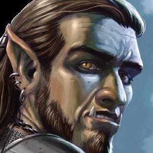 Half Orc Portrait http://www.myth...