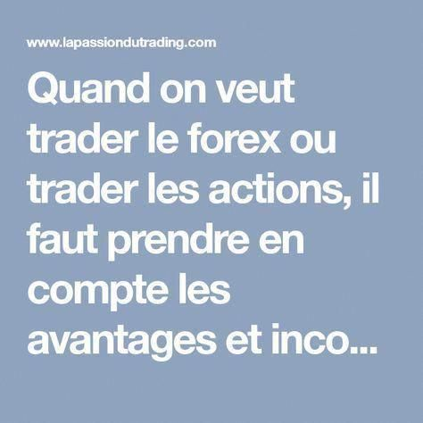 I want to learn how to trade in forex