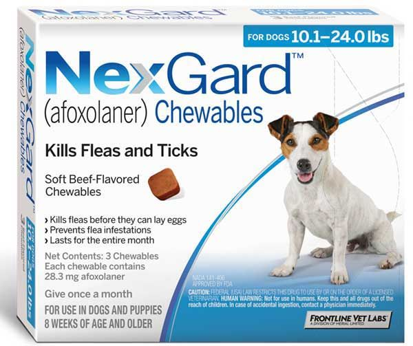 Nexgard Afoxolaner Chewables Which The U S Food And Drug Administration Approved Last Year As A Flea And Tick Preventive Is Now Indicated To Protect A Fleas