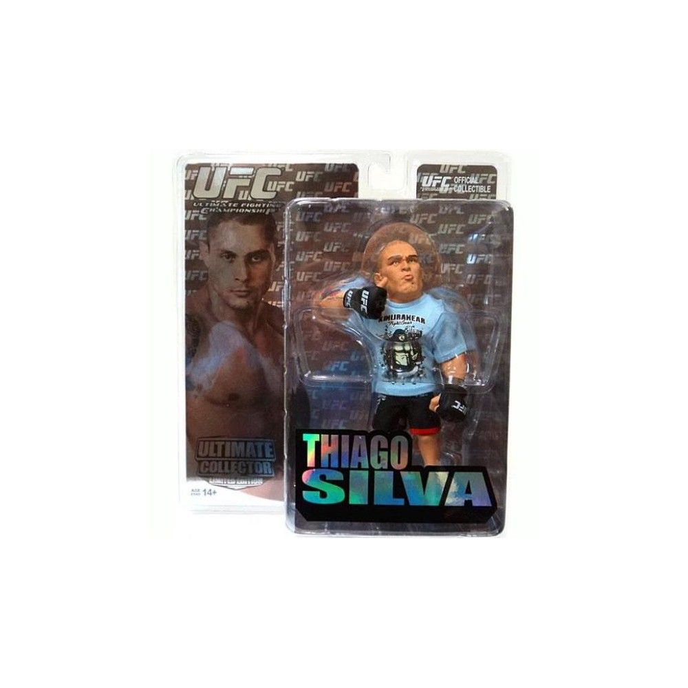 UFC Ultimate Collector Series 5 Thiago Silva Action Figure Limited Edition