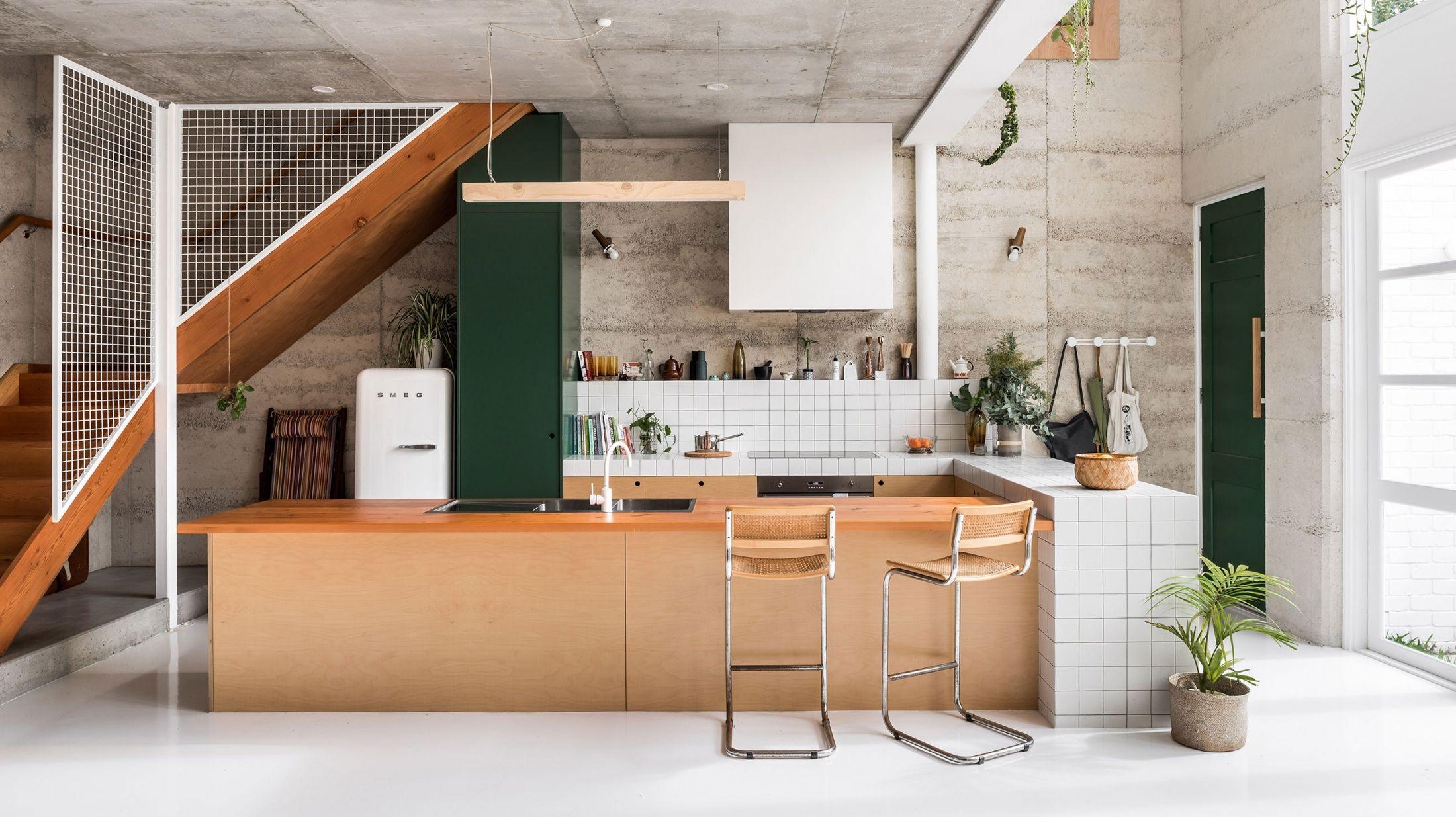 Kitchen eco home wa via tdf h m e pinterest door