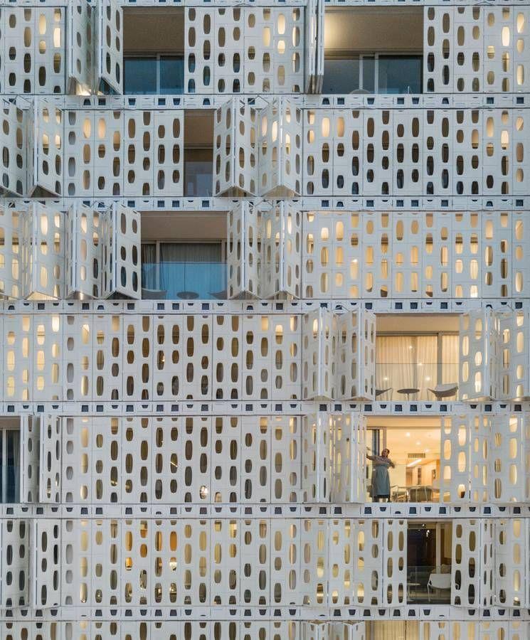 Building Facade Facade Design Metal Facade Building Facade