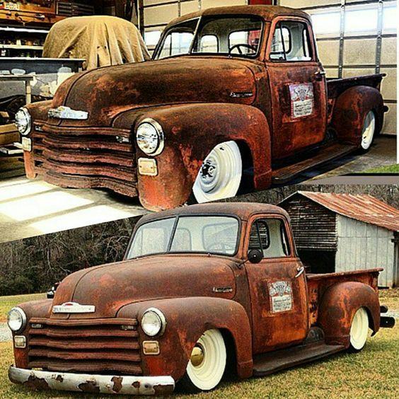 Chevy 3100 Chevy Trucks Vintage Trucks Rat Rod