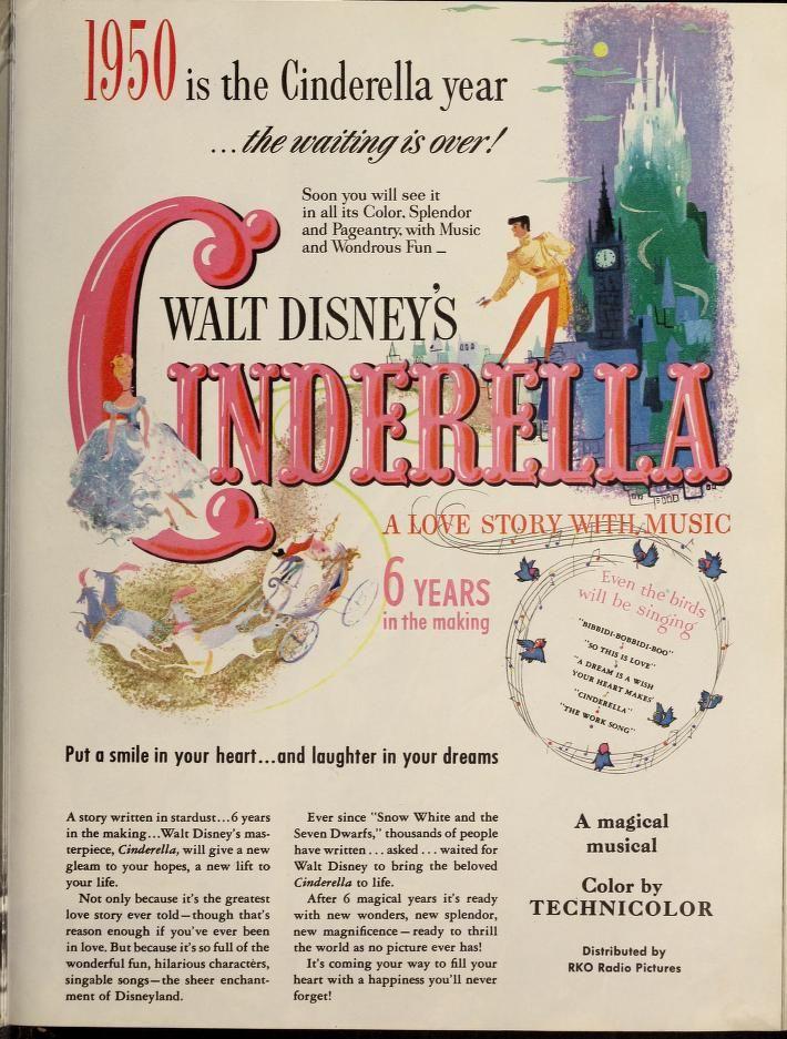 Cinderella ad (Screenland, 1950-03)