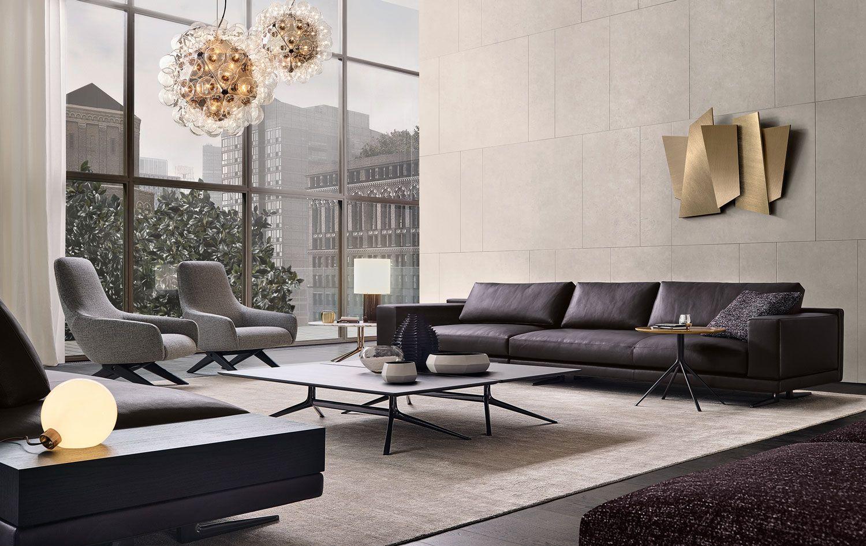 Poliform Mondrian Sofa by JeanMarie Massaud Living room