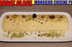 nougat-glace-recette-monsieur-cuisine-edition-plus-lidl-silvercrest-skmk-1200-thermomix #recettemonsieurcuisinesilvercrest