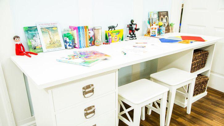 Diy Kids Craft Table Diykidscrafttable Diyprojects Diyideas