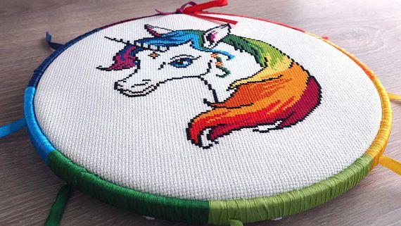 Unicorn cross stitch pattern Unicorn cross stitch Unicorn ...