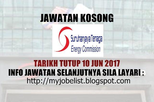 Jawatan Kosong di Suruhanjaya Tenaga (ST) - 10 Jun 2017  Jawatan kosong Suruhanjaya Tenaga (ST) Jun 2017. Permohonan adalah dipelawa daripada warganegara Malaysia yang berkelayakan untuk mengisi kekosongan jawatan kosong terkini di Suruhanjaya Tenaga (ST) sebagai :1. Executives - Electrical EngineeringTarikh tutup permohonan 10 Jun 2017 Lokasi : Putrajaya Sektor : Kerajaan  Company Overview Suruhanjaya Tenaga (Energy Commission) a statutory body established under the Energy Commission Act…