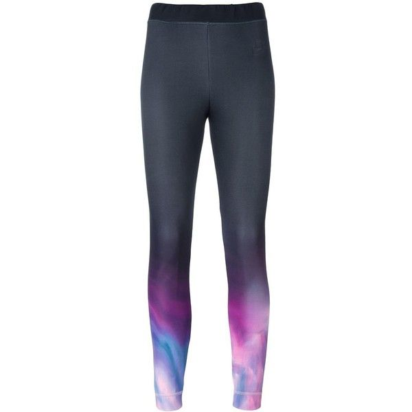 Nike Printed Calf Leggings 59 Liked On Polyvore Featuring Pants