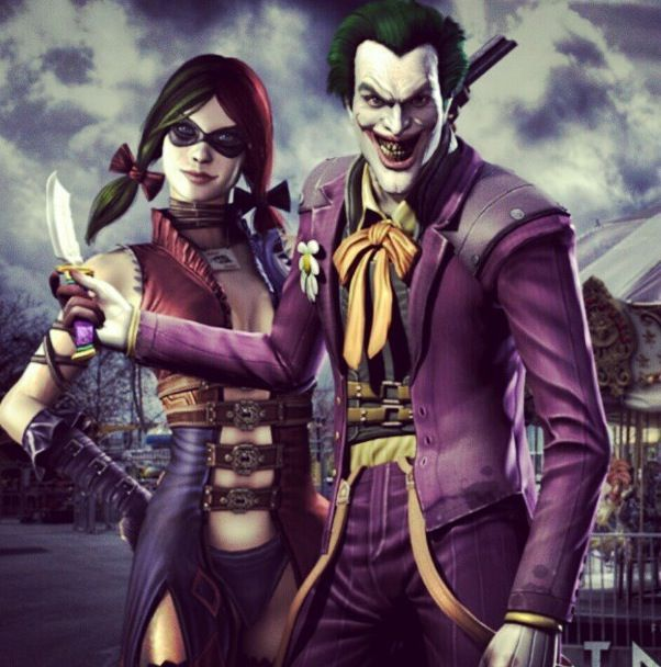 Harley Quinn And The Joker Injustice Gods Among Us
