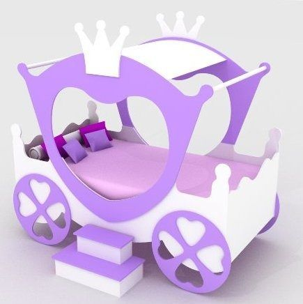 Cama infantil carroza cenicienta cama para nenas hermosa - Carroza cenicienta juguete ...