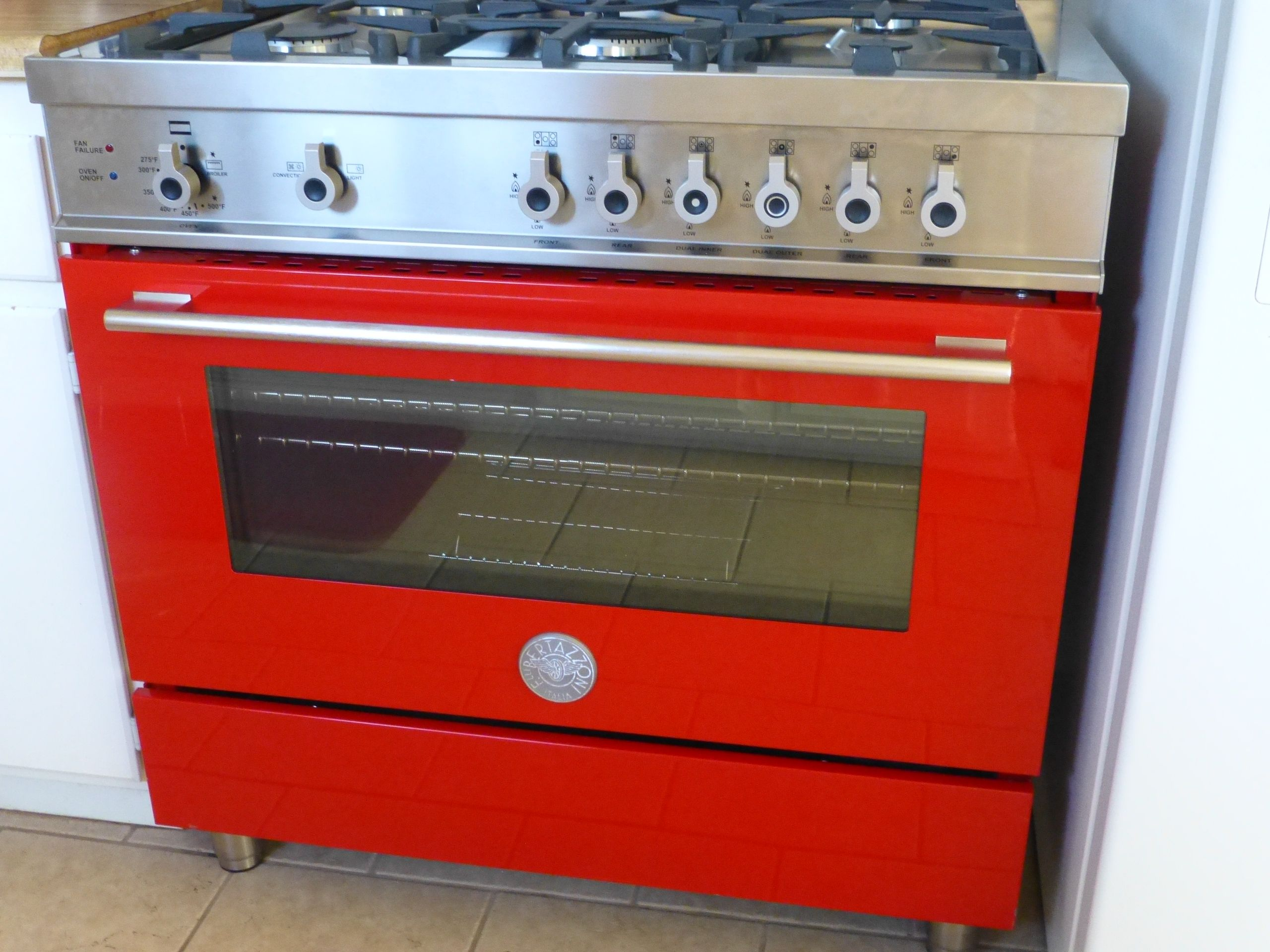 My Beautiful Red Stove