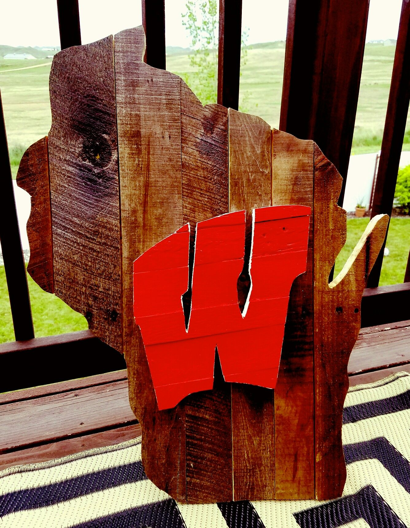 Wisconsin Pallet Wood Project - this is my first attempt ...