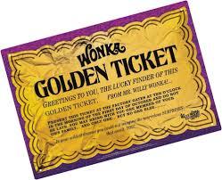 Wonka Golden Ticket Google Search Golden Ticket Ticket Candyland