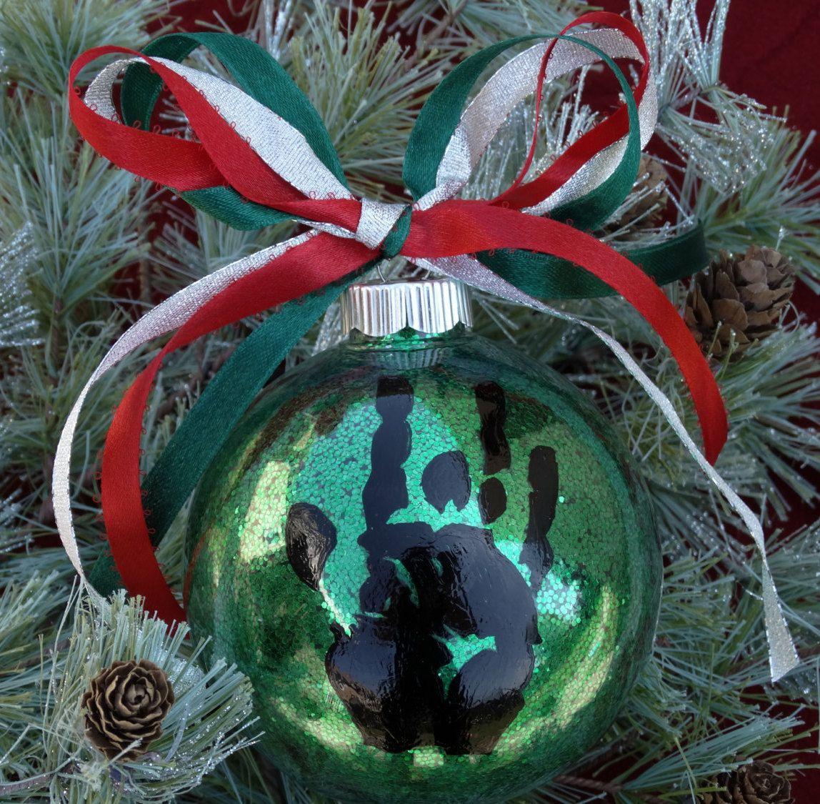 Jerry Garcia Hand Print Ornament/Grateful Dead Christmas Ornament ...