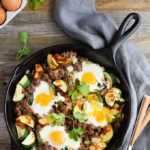 Photo of Looking for a healthy, paleo breakfast? This zucchini beef s…