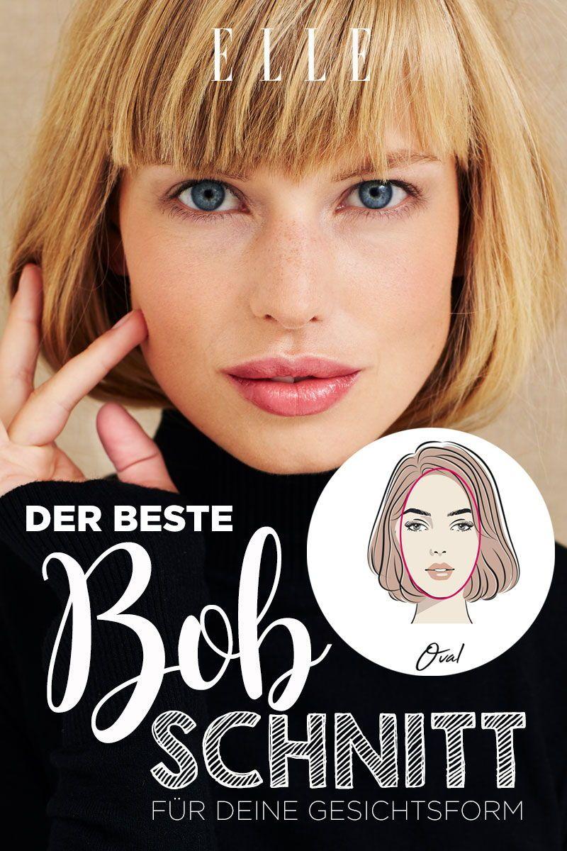 Das ist der beste Bob-Schnitt für deine Gesichtsform ...