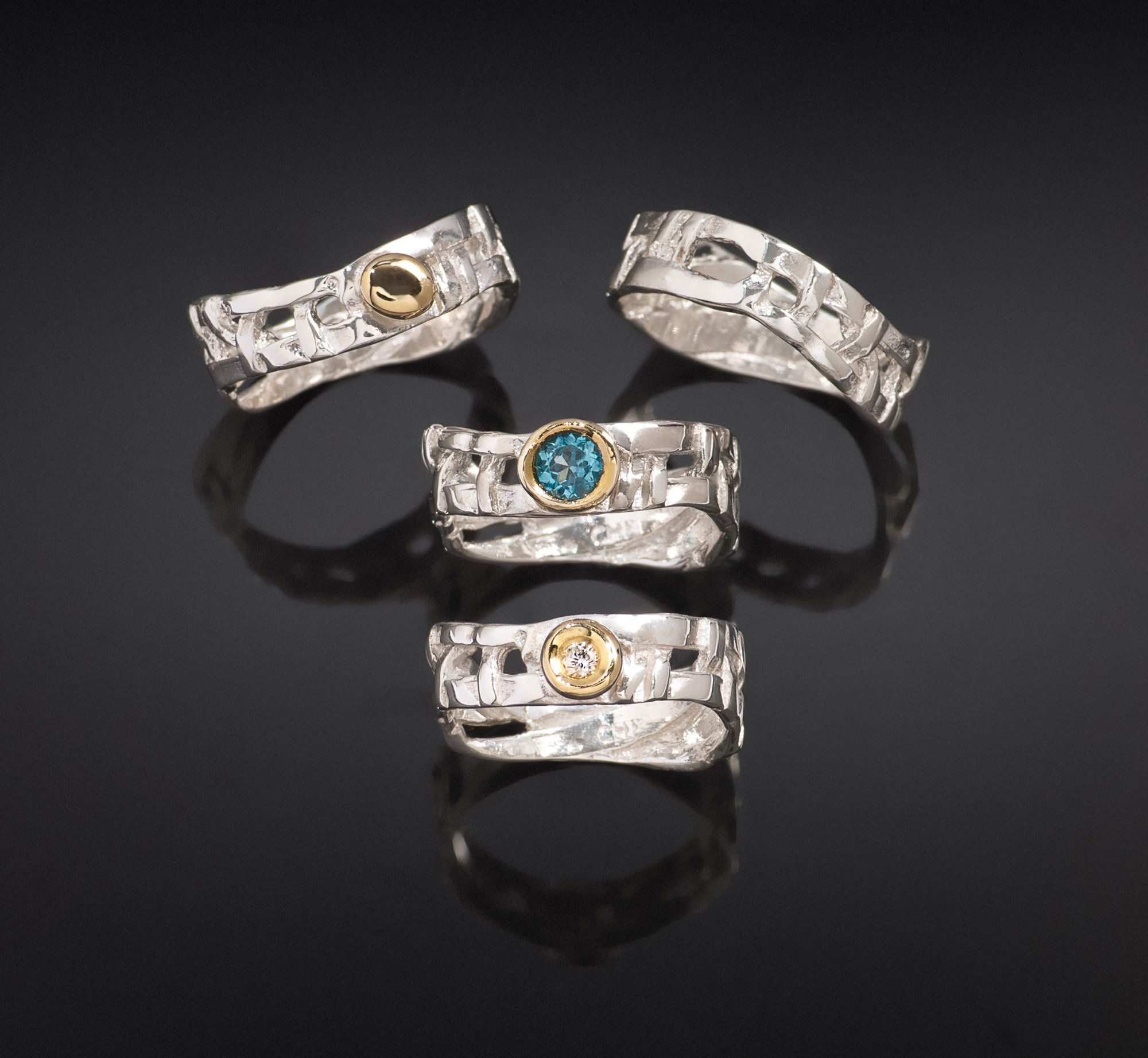 rings bold tacori basket women ring rock s classic womens crescent jewelry woven