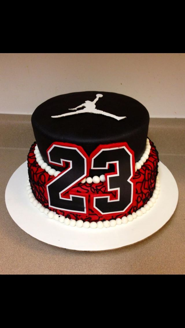 My Michael CakeStyle Jordan 23 Cake Next Birthday Bday MpUzSV