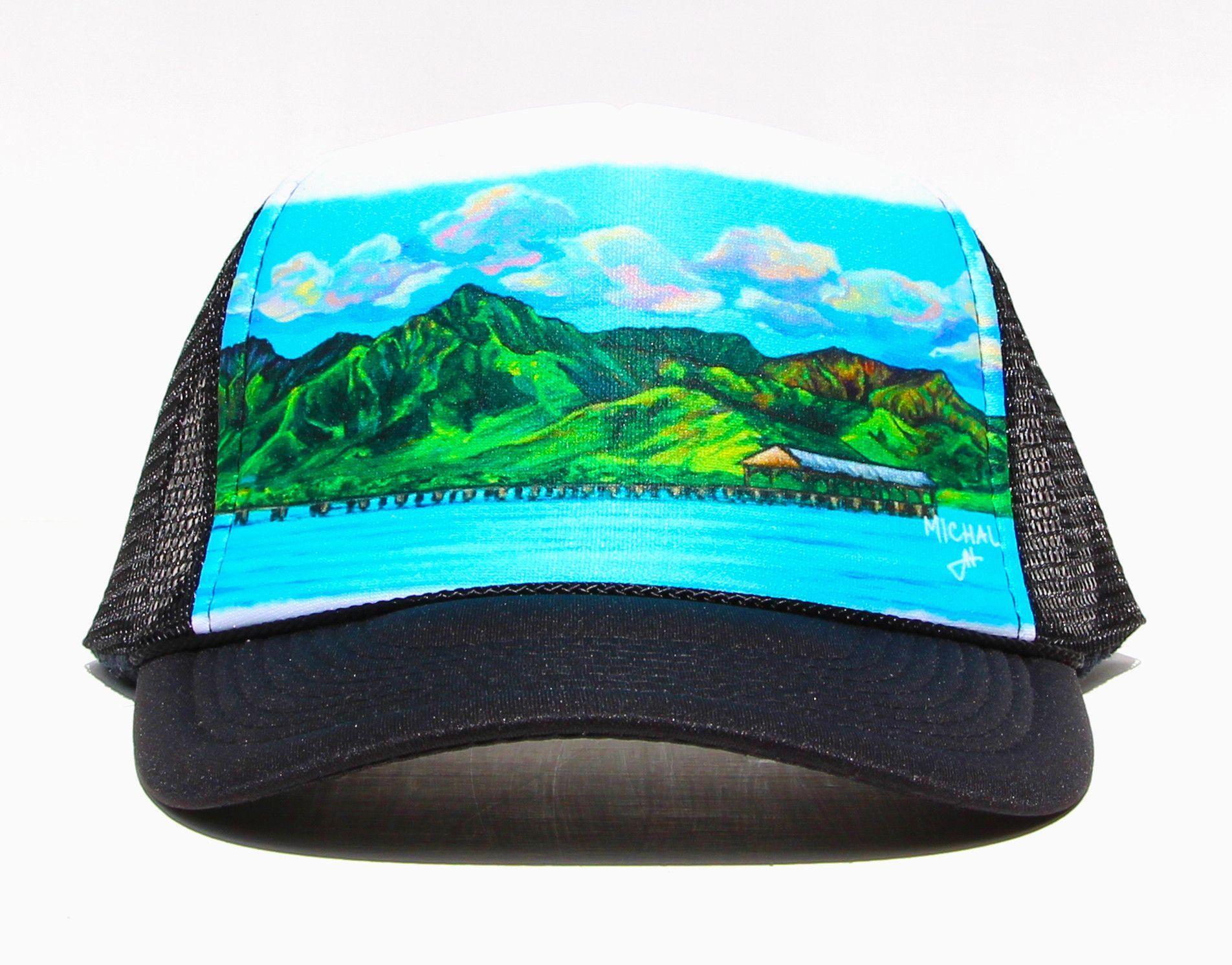 Hanalei Pier - Trucker Hat