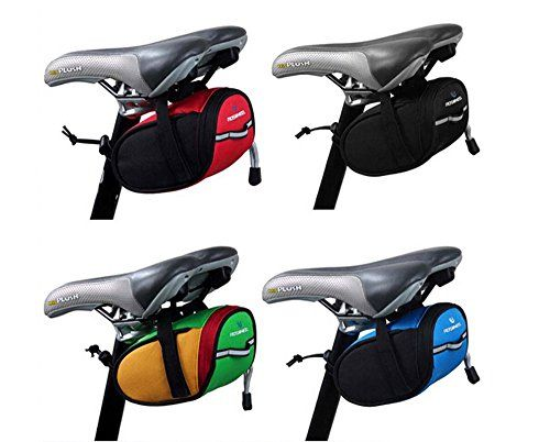 Waterproof Mountain MTB Bike Cycling Saddle Bag Under Seat Pouch Tail Rear PackA