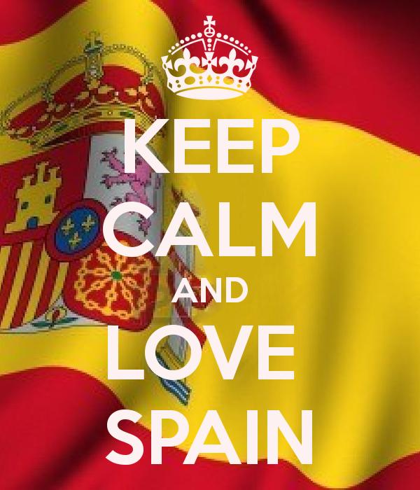 keep calm and love spain
