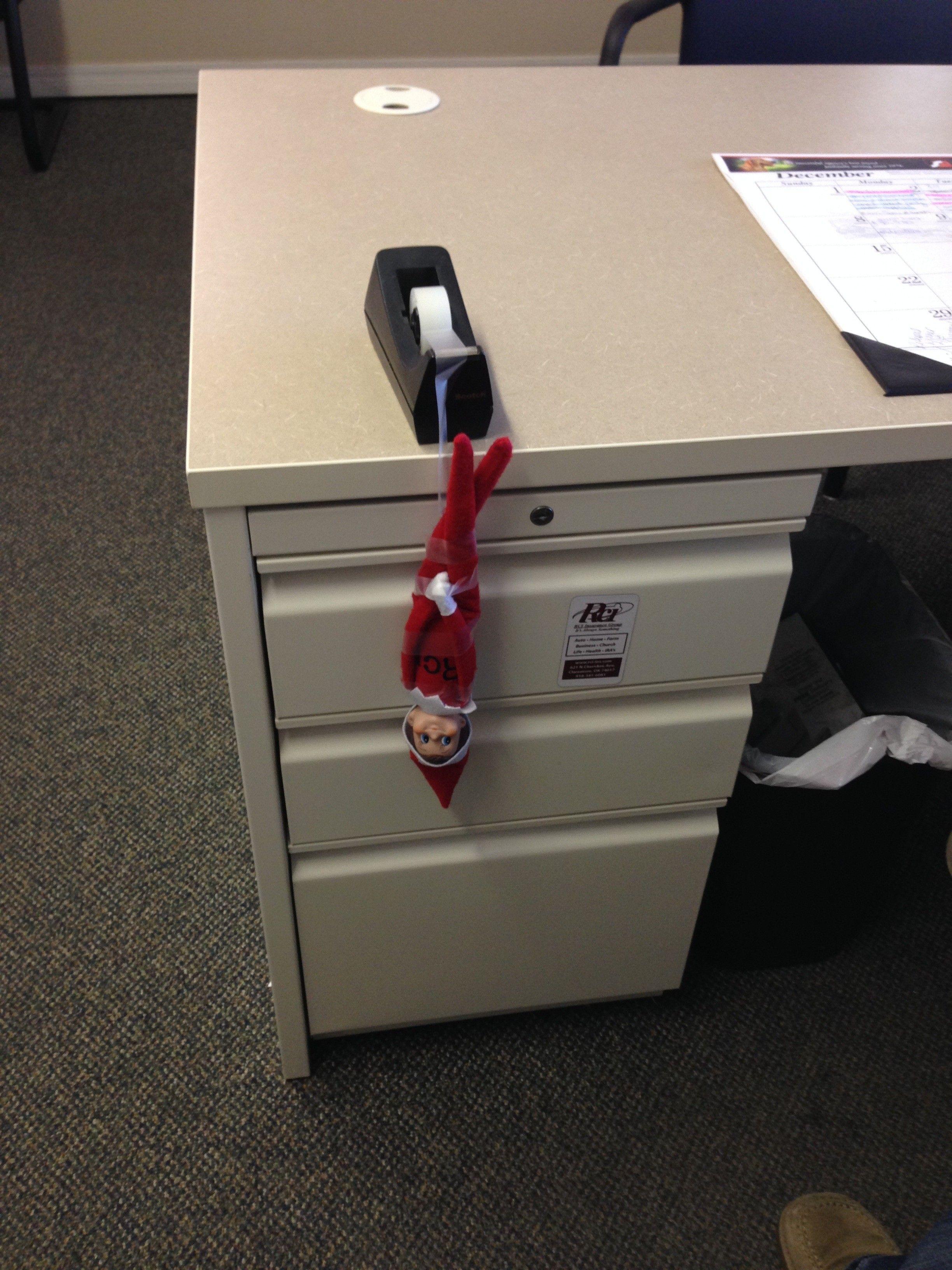 Elf on the Shelf hits RCI Insurance
