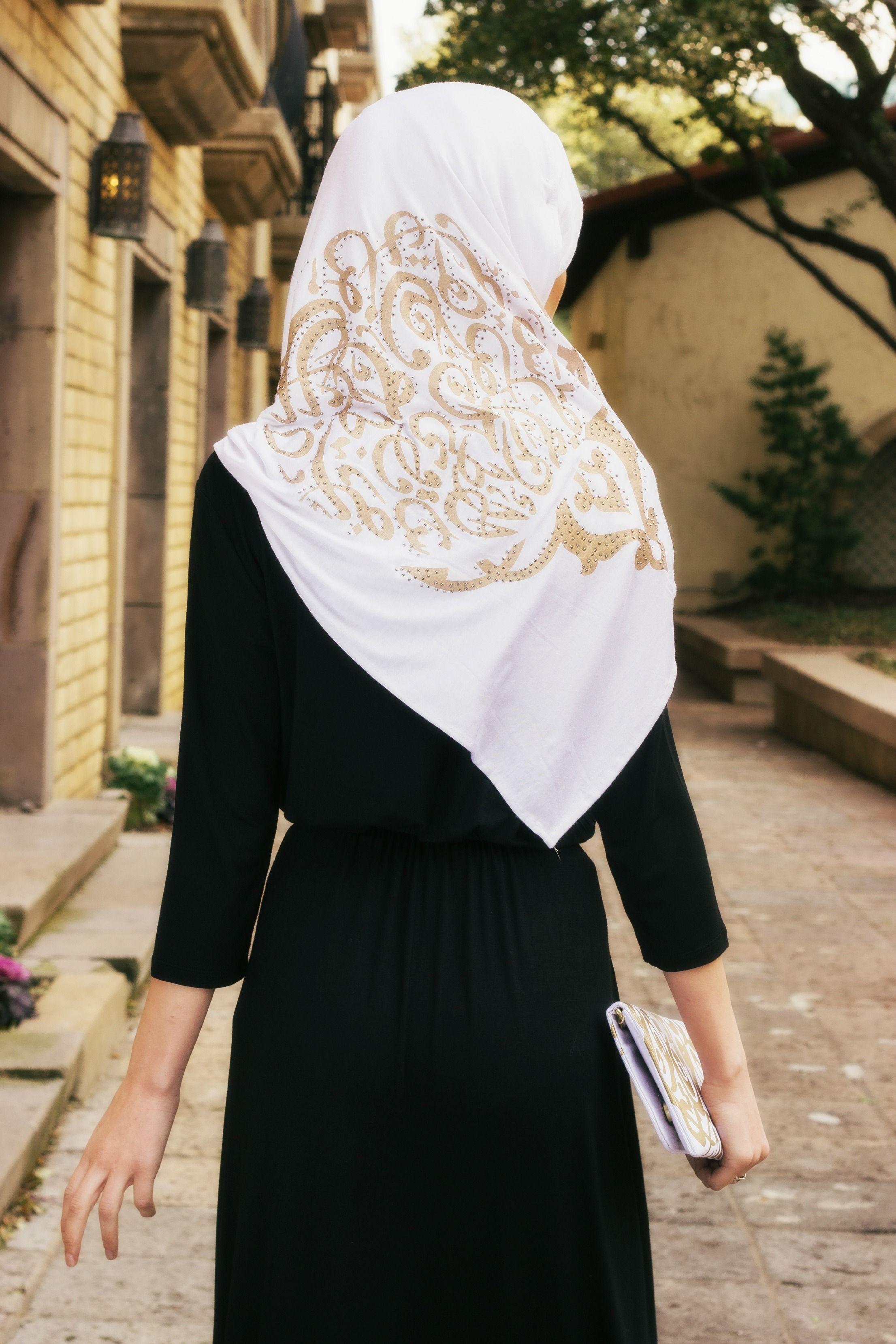 #Hijab Calligraphy Scarves Shop Now Wwwjannahgiftscom# Muslimah & #Hijab