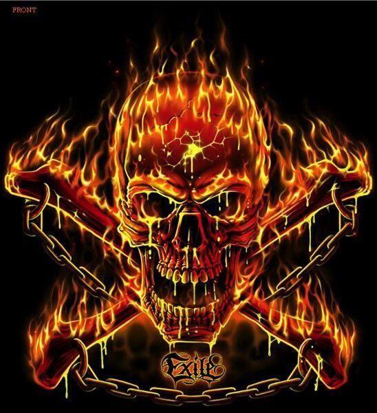 we might need a flaming skull :P