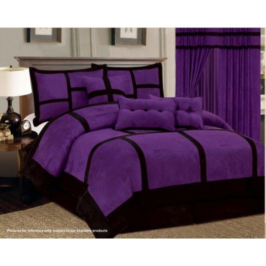 Best Awesome Steel Platform Bed Purple Bedding Purple 400 x 300