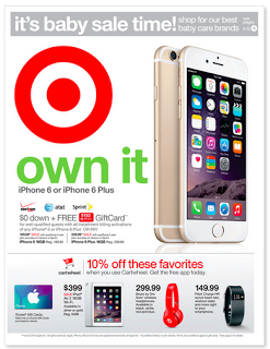Target Coupon Deals Week Of 7 5 Target Deals Coupon Iphone 6 16gb Iphone 6 Plus