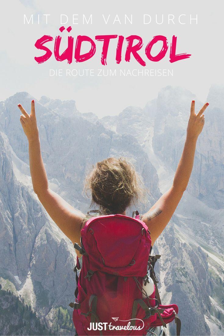 Mit dem Van durch Südtirol – Die Route zum Nachreisen