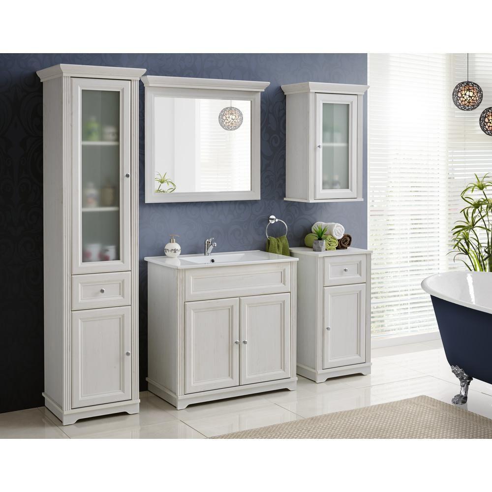 Lustro 60 Cm Palace Comad Bathroom Furniture Storage Black Bathroom Mirrors Small Bathroom Storage