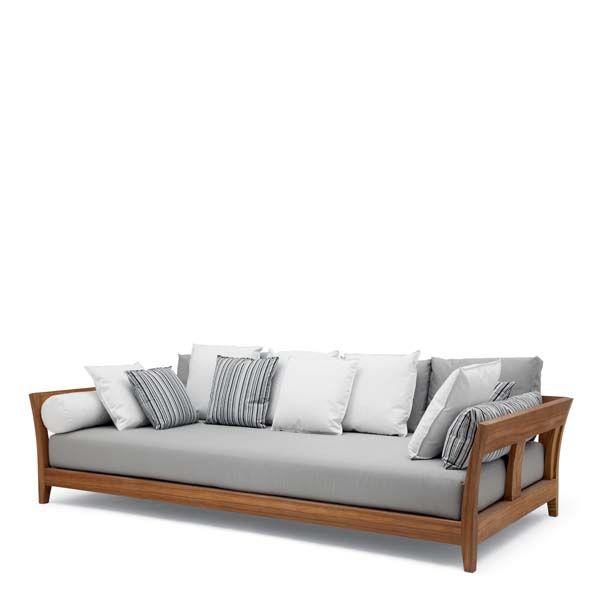 Christian Liaigre Inc Filao Sofa Wooden Sofa Designs Living