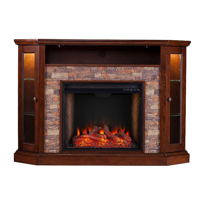 Southern Enterprises Electric Fireplace Fireplace Tv Stand