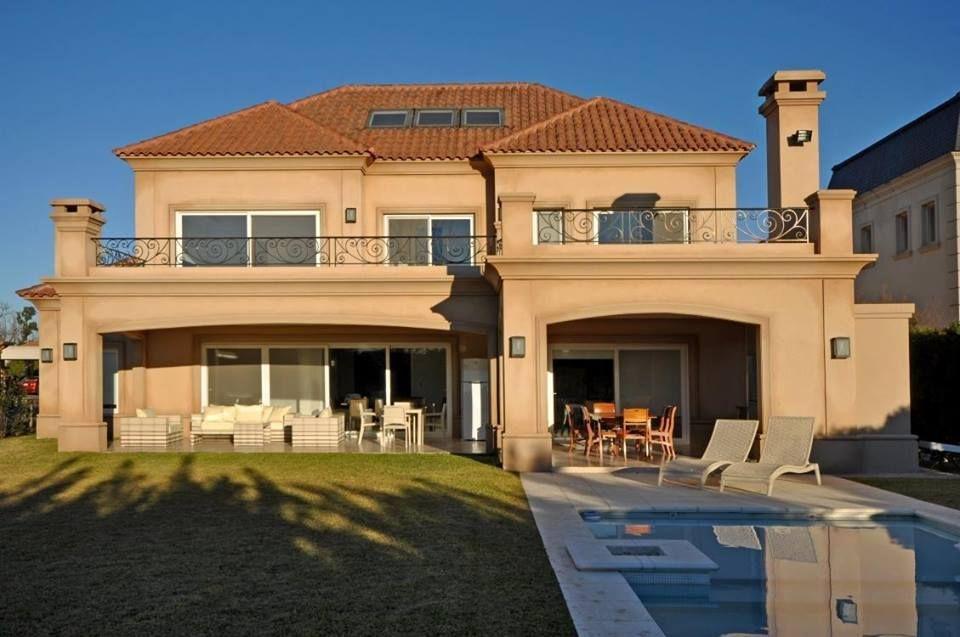 Casa clasica en barrio privado de pilar buenos aires - Casas clasicas modernas ...