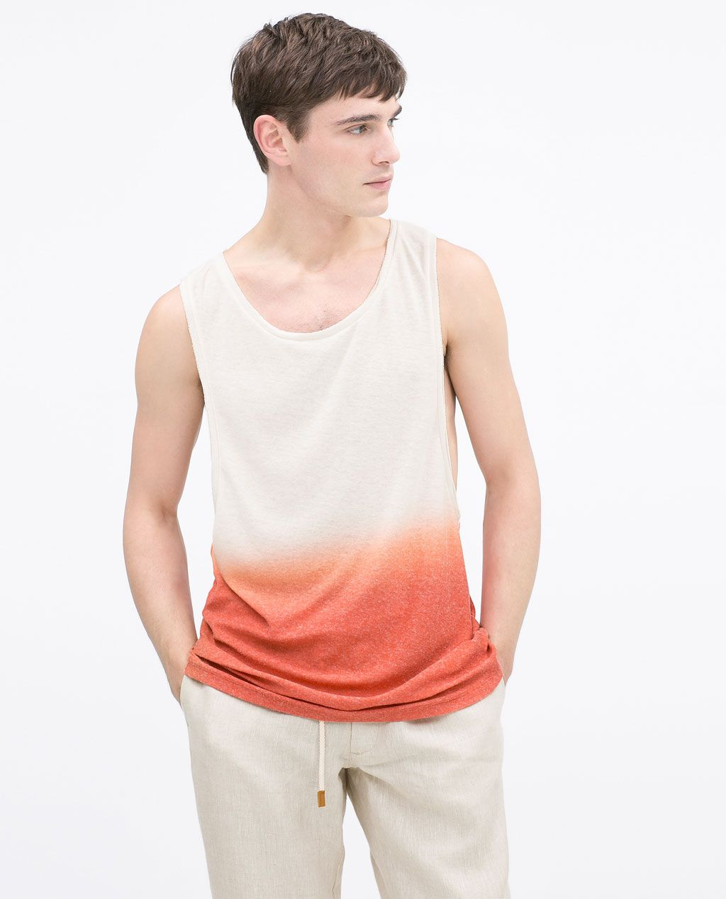 3c470dd2 ZARA - MAN - TANK TOP | grphics | Zara man, Mens tops, Zara