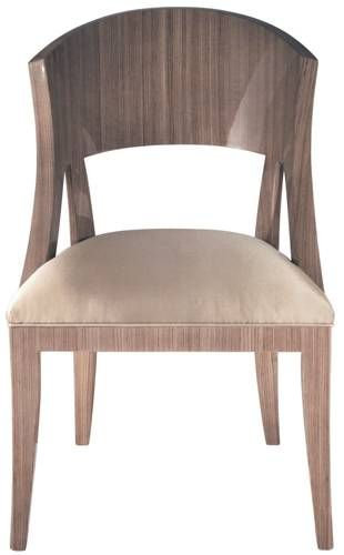 Zebra Wood Upholstered Chair Blue Dining Room Chairs Blue