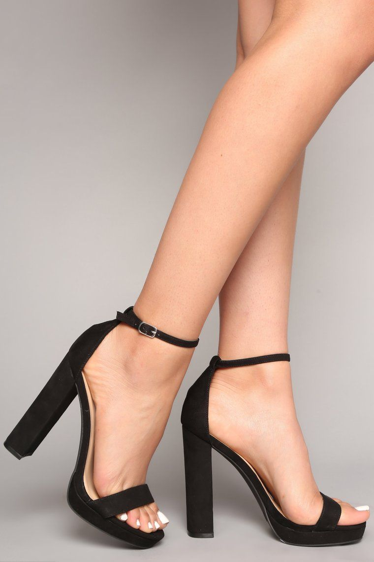 f733035a8b2 Your Biggest Fan Heels - Black in 2019