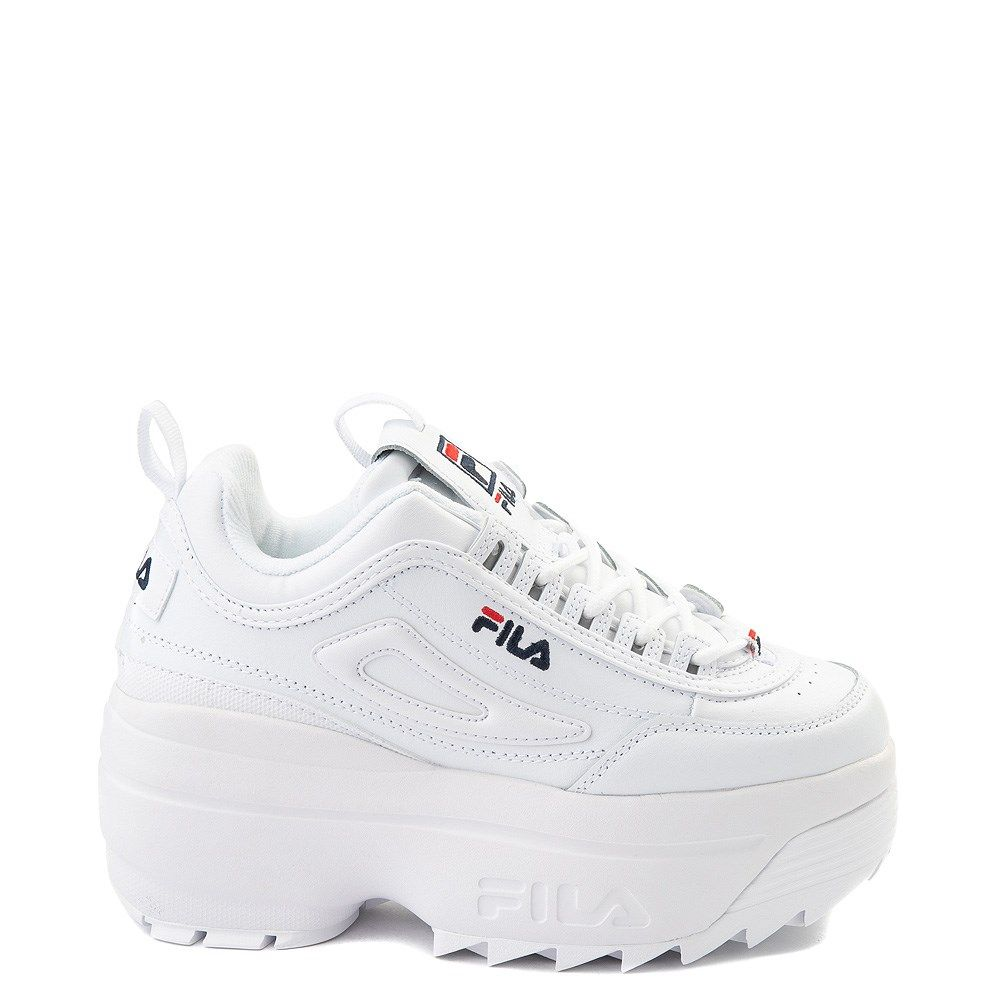 Womens Fila Disruptor Wedge Athletic Shoe | Athletic shoes