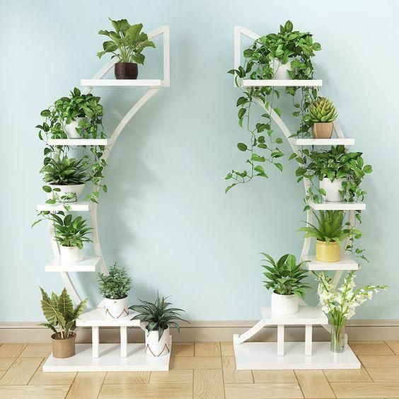 2pcs Standing flower shelf .Living room & balcony Plant