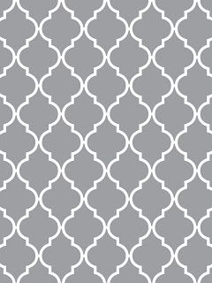 Light Gray White Quatrefoil Pattern This Is My New Favorite For Pillows And Rugs