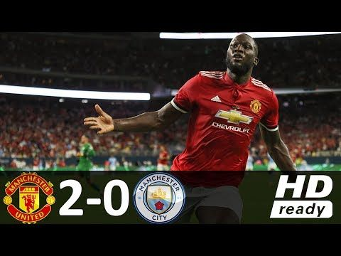 Manchester United Vs Manchester City 2 0 All Goals Highlights Manchester Derby Manchester City Manchester United Football Club