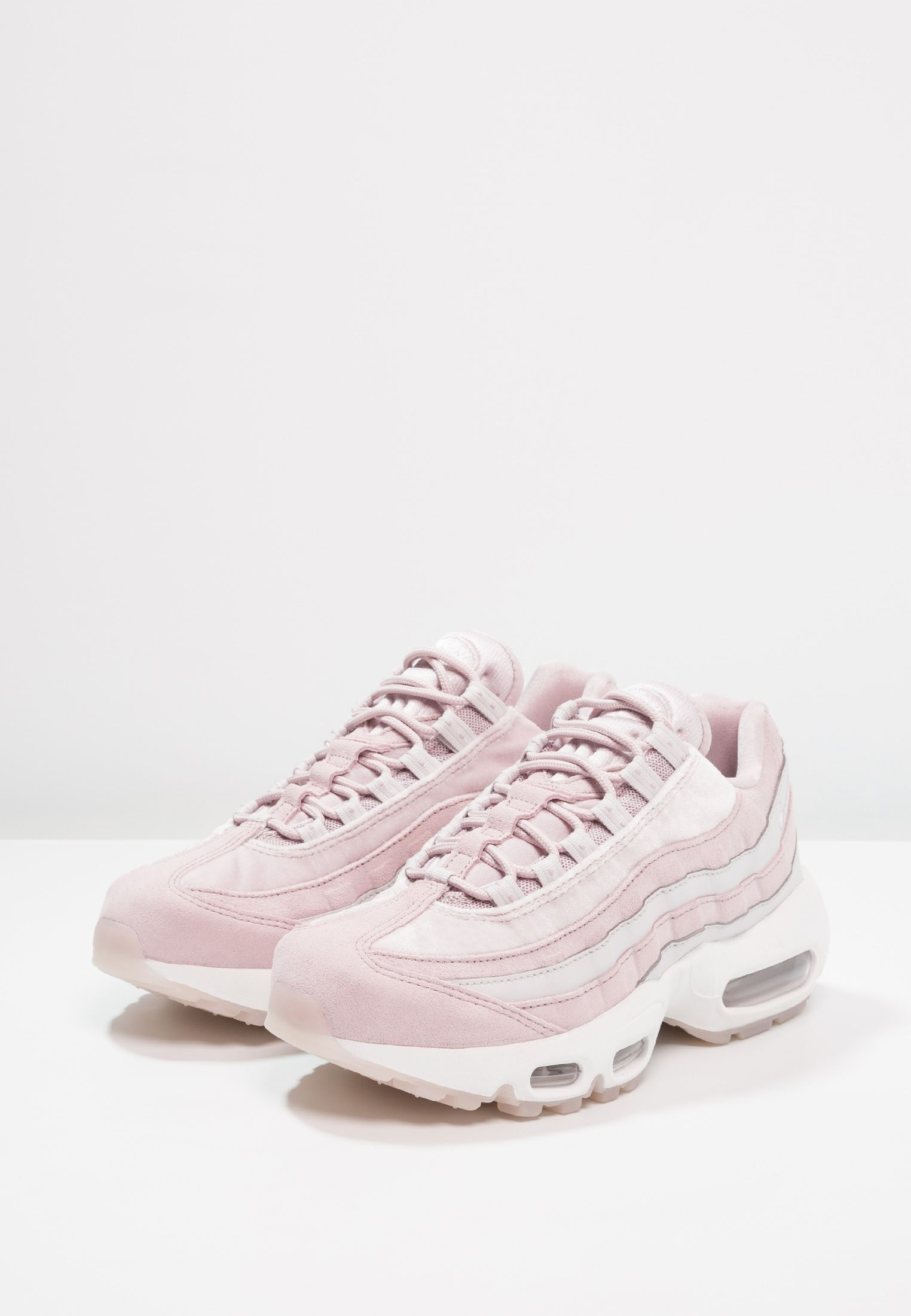 AIR MAX 95 LX - Sneakers - particle rose/vast grey/summit ...
