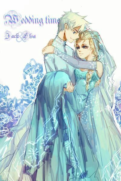 La Boda De Jack Frost Y La Reina Elsa Princesas Disney Jack Frost Imagenes De Disney
