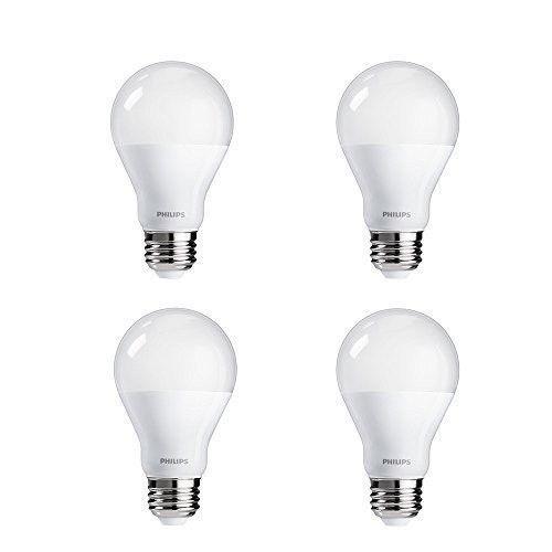 Led Light Bulb 4 Pack 100w Equivalent 14w Natural Daylight Day Lighting 110v A19 Led Light Bulb Smart Light Bulbs Light Bulb