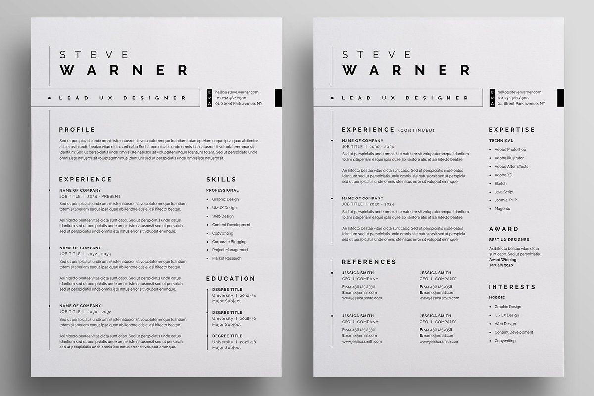 Resume/CV (с изображениями)